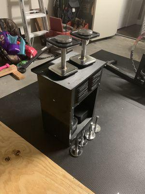 Ironmaster quick lock adjustable dumbbells 10-120lb set for Sale in Lakeland, FL