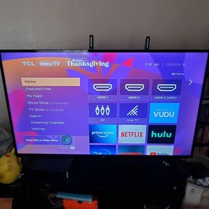 "55"" TCL Roku 4k UHD $225 for Sale in Sacramento, CA"