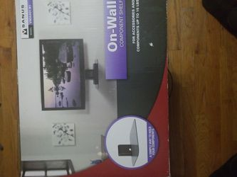 Glass Wall Mount For Electronics for Sale in Scottsville,  VA