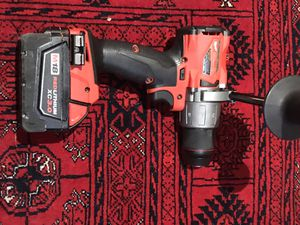 MILWAUKEE M18 1/2 HAMMER DRILL WITH 18V 3.0 Battery for Sale in Newark, NJ