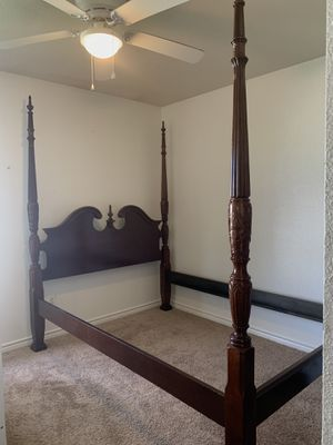 Solid Wood | Queen Bed Frame for Sale in Portland, TX