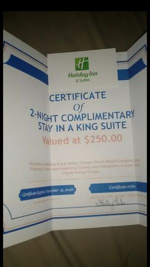 Holiday inn king suite for Sale in Tampa, FL