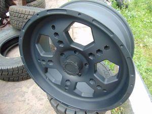 New 22X9.5 Liquid Metal Gatlin Flat Black Rims *5X150 TUNDRA* +10MM Offset for Sale in Aurora, CO