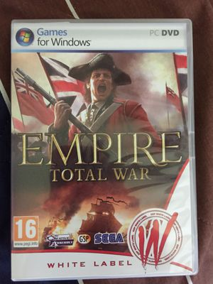 Empire Total War CD for PC for Sale in Mount Prospect, IL