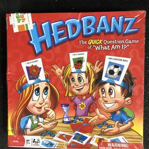 "BRAND NEW! Hedbanz the Quick Question Game of ""What am I?"" for Sale in Hillsborough, CA"