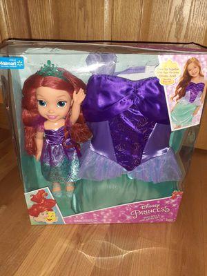 Disney Princess Ariel Doll & Girl Dress for Sale in Oak Lawn, IL
