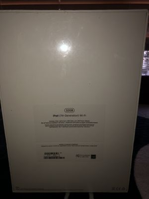 BRAND NEW!!!! iPad Still in box never opened plastic still on it7 generation32gb + WIFI for Sale in Antioch, CA