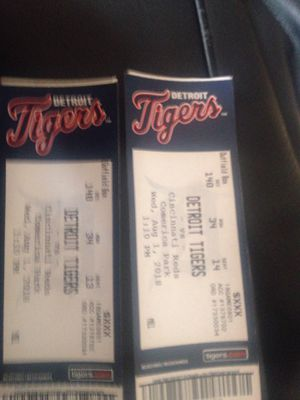 DETROIT TIGERS TICKETS for Sale in Detroit, MI