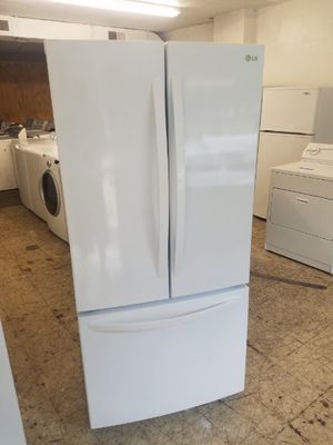 Affordable LG French Door Top Bottom Fridge with Warranty for Sale in Norfolk, VA