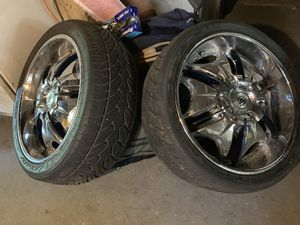 24'USA Rims and tire. for Sale in Washington, DC