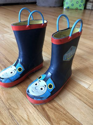 Thomas Train Rain Boots - kid size 10 for Sale in Lowell, MA