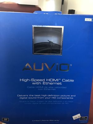 HDMI Cable 20 ft (6.09m) for Sale in Chicago, IL
