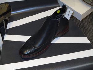 Casual dress Shoe boot oxford style design 7.5 to 13 brown and black insole leather for Sale in Philadelphia, PA