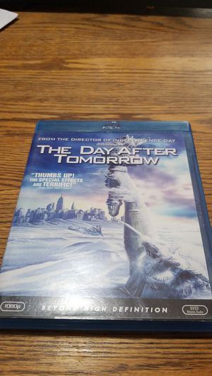 The Day After Tomorrow blu ray for Sale in Modesto, CA