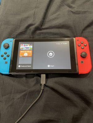NINTENDO SWITCH 128 GB COMES WITH EVERYTHING CHARGER DOCKS HDMI for Sale in Queens, NY