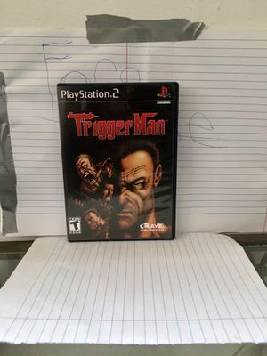 Trigger man PS2 for Sale in West Palm Beach, FL