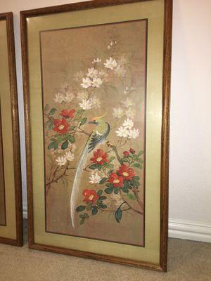 GORGEOUS VINTAGE ARTWORK 36 x 21 SALE PRICE $50 for Sale in McKinney, TX