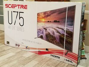 "U750CVUMR 75"" SCEPTRE LED UHD 4K 2160P for Sale in City of Industry, CA"