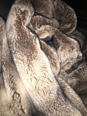 Queen Fur Blanket for Sale in Garden Grove, CA