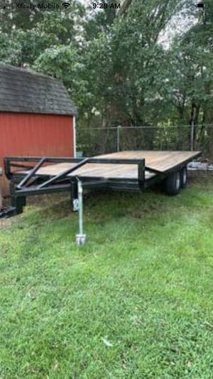 8x19 over axel trailer for Sale in Murfreesboro, TN
