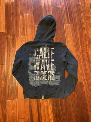 Men Hollister Abercrombie and fitch AF authentic jacket hoodie warm suéter chaqueta Large L Medium M brand new with tag for Sale in Garden Grove, CA