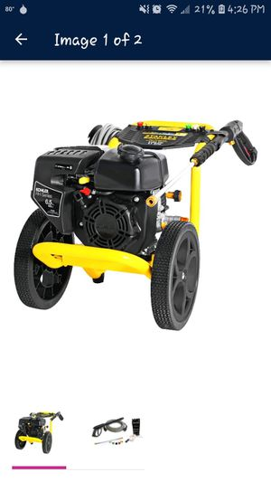 Pressure washer 3400 2.5 stanley fatmax for Sale in Moore, OK
