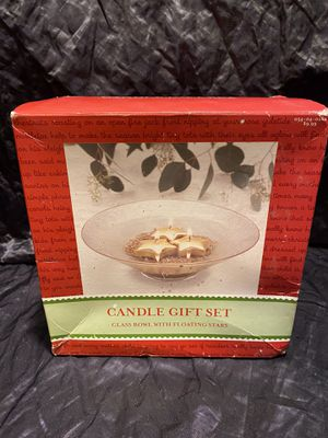 Candle Gift Set With floating stars for Sale in Kissimmee, FL