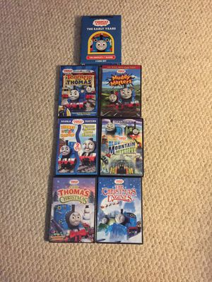 Thomas the Tank Engine DVD's. New and Rarely Used for Sale in Bolingbrook, IL