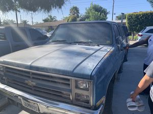 Chevy Blazer K5 Silverado 4x4 for Sale in Los Angeles, CA
