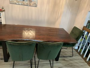 Big and a nice dining table. for Sale in Woodbridge, VA