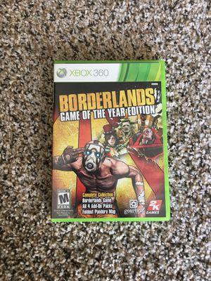 Borderlands GOTY Edition for Sale in Nashville, TN