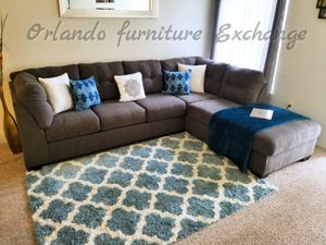 $799 FREE DELIVERY! BRAND NEW GREY ASHLEY SECTIONAL SOFA for Sale in Oviedo, FL