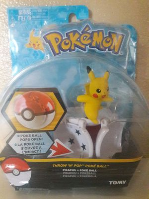 POKEMON Pokeball throw n pop PIKACHU for Sale in Baldwin Park, CA
