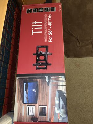 Tilt Wall Mount For Flat TVs for Sale in Fort Worth, TX