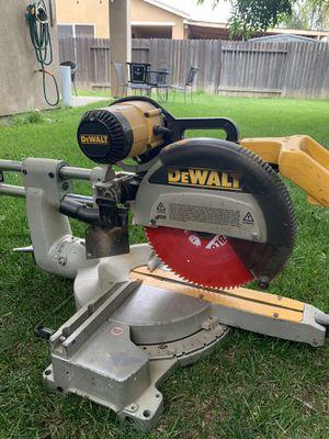 DeWalt miter saw for Sale in Modesto, CA