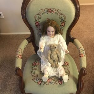 1248 Simon-Halbig-11 1/2 Antique Porcelain Doll for Sale in Tigard, OR