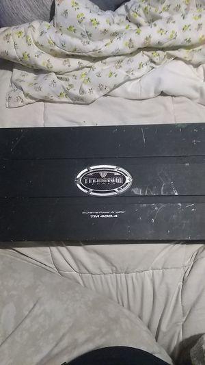 Titanium power 4 channel car amplifier for Sale in Salt Lake City, UT