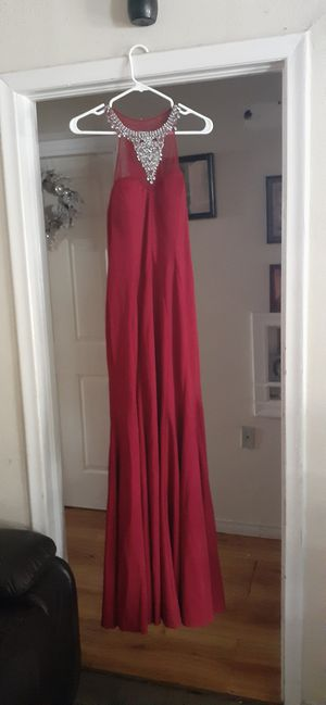 Beautiful Coya Collection burgundy Prom dress for Sale in Mesquite, TX