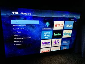"TCL 50"" smart tv roku for Sale in Oxnard, CA"