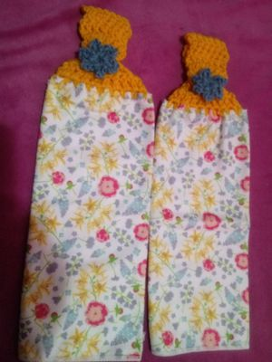 Pair of Custom Kitchen Towels for Sale in St. Louis, MO