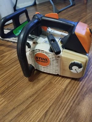 Stihl chainsaw ms 200 for Sale in Lawrenceville, GA