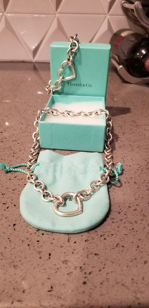 Tiffany & Co. Heart Set- Necklace & Bracelet for Sale in Escondido, CA