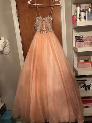 Pink prom dress size 1 for Sale in Cleveland, OH