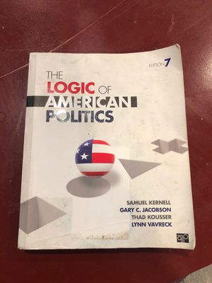 The Logic of American Politics 7th Edition for Sale in Tampa, FL