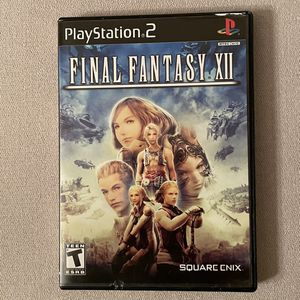 Final Fantasy XII (Sony PlayStation 2) PS2 Complete for Sale in Gilbert, AZ