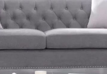 Grey Nailhead Couch for Sale in Pacifica,  CA