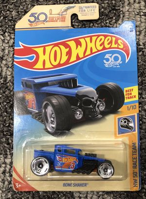 Bone shaker 50 anniversary Hot wheels 1:64 Die Cast Metal Car for Sale in Marysville, WA