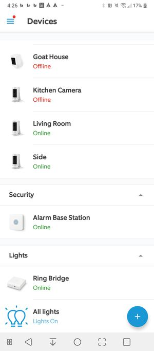 Ring Security System 1st Generation for Sale in Seattle, WA