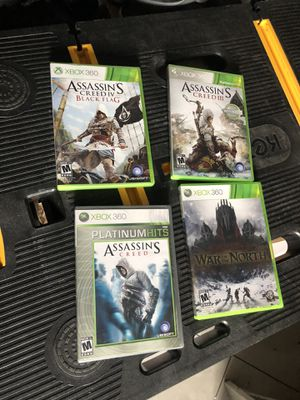 Xbox 360 Lot of 3 assassins and 1 war in the north games for Sale in Paterson, NJ