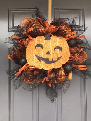Handmade Halloween Wreath for Sale in Baton Rouge, LA